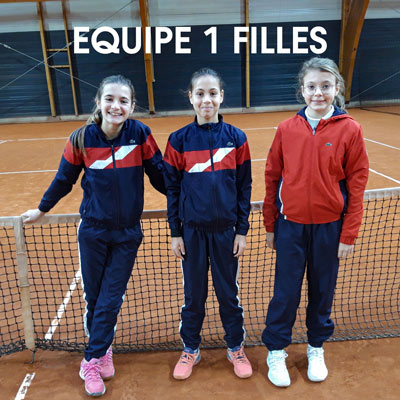 Equipe 1 Filles 13-14 ans